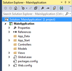How to create an Area in ASP NET MVC application